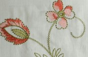 Dianthus Embroidery